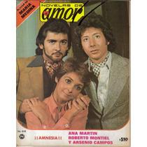 Fotonovela Amor: Ana Martin, Roberto Montiel, Arsenio Campos