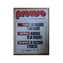 Revista Proceso No. 1,2,4,5,6,7,9,10,12,14,16,18,19,20 Y 21.