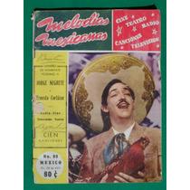1953 Jorge Negrete Homenaje Postumo Revista Melodias Mexican