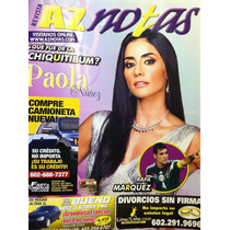 Paola Nuñez Revista Az Notas
