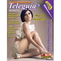 Martha Higareda Revista Teleguia Usa