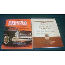 Mecanica Popular Abril De 63 Y Motores Diesel Del 71 De Gm
