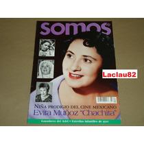 Evita Muñoz Chachita Niña Prodigio Del Cine Revista Somos 02