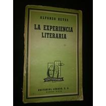 Alfonso Reyes La Experiencia Literaria