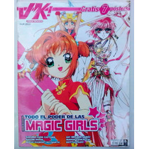 Mega Revista Mexicana Vk Especial Manga Magic Girls, Rara