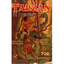 Tarzan Novela:tarzan El Terrible 188 Paginas ¡1945!