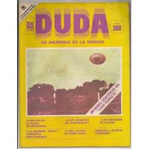 Duda Revista # 360 El Caso Ummo Ed Posada 1978