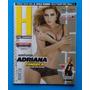 Revista H Para Hombres Adriana Fonseca Con Poster Como Nueva