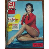 Revista, Ciné Revue,francia, Cyd Charisse En Portada