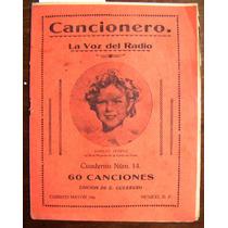 Revista Cancionero, Shirley Temple En Portada N°14