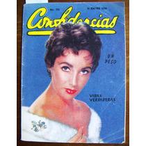 Revista Confidencias,elizabeth Taylor En Portada N°751
