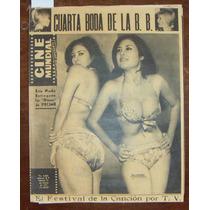 Revista Cinemundial,elsa Linares En Portada