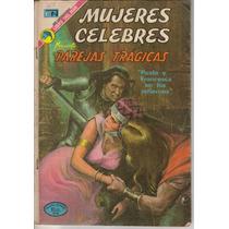Parejas Tragicas En Mujeres Celebres No.151 Año-1973