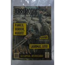 Revista Alarma Edición Terremoto De 1985