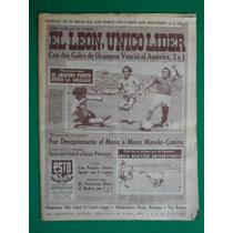 1974 Futbol Leon Lider Del Futbol Mexicano Periodico Esto
