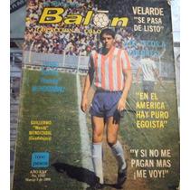 Revista Balon,25 Aniv. Portada Wendy Mendizabal,año 1988