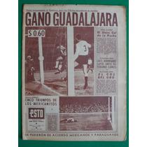 1961 Futbol Guadalajara Chivas 1 America 0 Periodico Esto