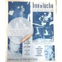 Revista Lucha Libre,owen Hart,blue Blazer,poster Octagon,oro