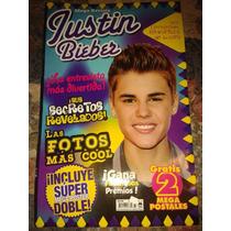 Mega Revista Justin Bieber Con Posters Hpv