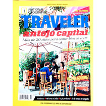 National Geographic. Traveler.marzo 2013.antojo Capital D.f.