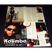 Kalimba Lote De Coleccion De Recortes De Revistas Ov7
