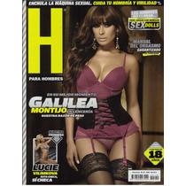 Galilea Montijo En Portada De Revista H, Maa
