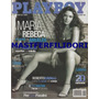 Maria Rebeca Playboy Mexico Num. 39 Vol. 4 Enero 2006