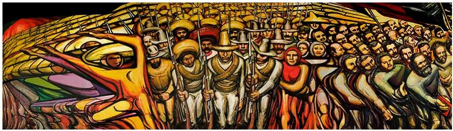 Revoluci n 1 siqueiros rompecabezas 135x38cm 1000 pzs for El mural de siqueiros