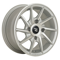 Rines 13x6 4-114.3 R1 Sport 521 Machine Silver Et33 ¡new!