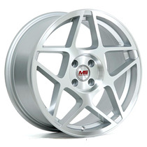 Rines 17x8 4-100 M Er-062 Et 30 Color Silver ¡nuevos!