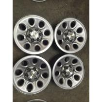 Rines 17x7.5 Chevrolet Silverado $1250 C/u Cheyenne Jgo 5000