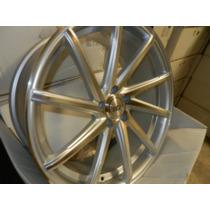 Rines 20x8.5 5-112 #5154 Et 38 Color Silver/pulido ¡nuevos!