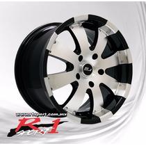 Rin 18x8 5-127 R Sport U8010 Machine Black Et20