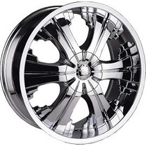 Rines 20x8.5 5-114.3/ 120 Polo 856 Crom Et+14 Taiwan