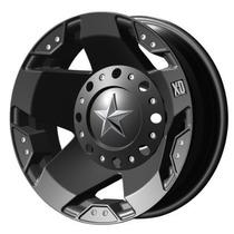 Juego De 4 Rines Xd Rockstar 775 20x8.5 6-5.5 / 6-135