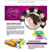 Magic Loverag Rizador Enchinador De Cabello No Maltrata Pelo