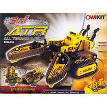 Robot Atr 3 In 1 Owi-536 Todo Terreno Control Remoto Juguete