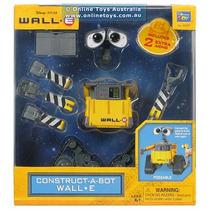 Wall-e Construye Un Robot 10 Pzas Y 2 Brazos Extra