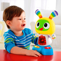 Bibot Robot Fisher Price Baila Musical Luces Bebe Juguete