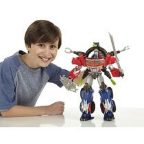 Tb Muñecos Transformers Beast Hunters Optimus Prime