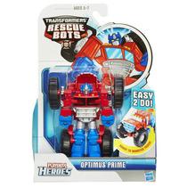 Tb Muñecos Playskool Heroes Transformers Rescue Bots Optimus