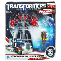 Tb Muñecos Transformers: Dark Of The Moon Fireburst Optimus
