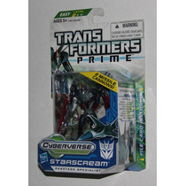 Transformers Prime Starscream Cyberverse Commander Class