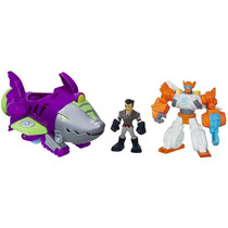 Transformers Rescue Bots Captura Del Sub Tiburon Playskool