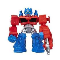 Figura Héroes Playskool Transformers Robot Optimus Prime Acc