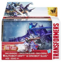 Transformers Sparklers Age Of Extinction Drift Y Slug Luces