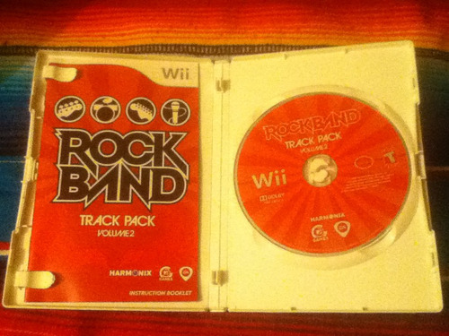 Rock Band Track Pack Volumen 2 Para Nintendo Wii!!!
