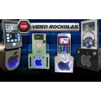 Rockolas De Piso Monitor 22 Y 1 Tera Disco