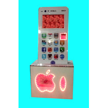Rockola Mueble Iphon Para Lcd O Led Y Bafle De 15