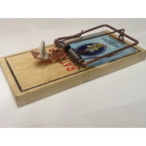 Ratoneras Trampa Incluye 3 Cebos,sirve Para Ratas Y Ratones
